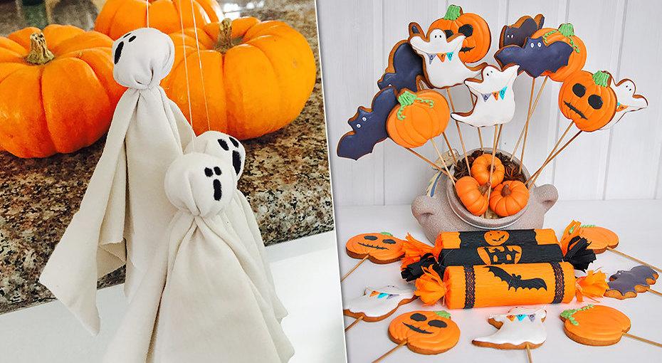 10 страшных (и немножко милых) украшений дляХэллоуина своими руками