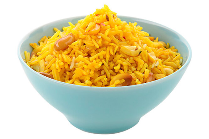 Желтый рис с зирой