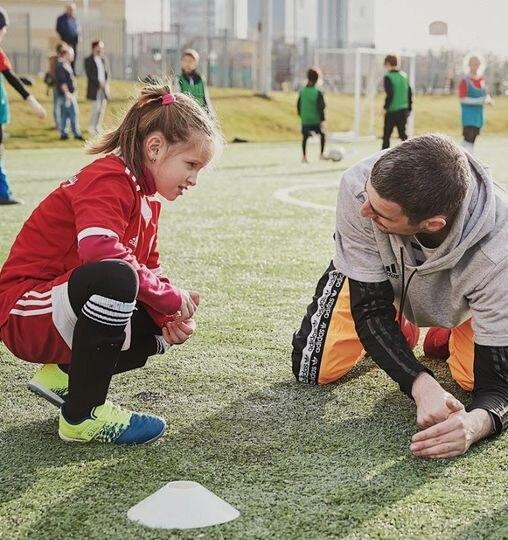 футбол, тренер, девочки