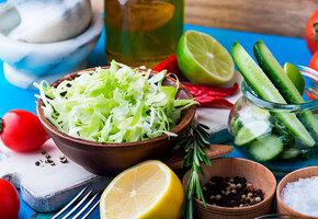 Необычный салат из капусты – с секретным ингредиентом