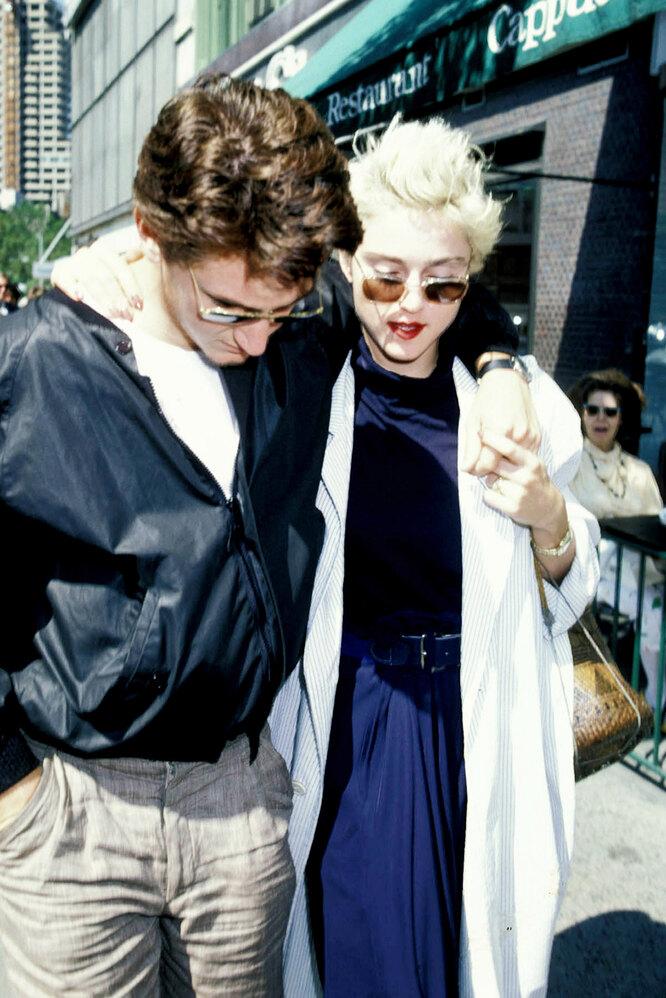 История любви Шона Пенна и Мадонны