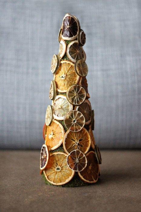 Самая теплая елка в мире. Делаем новогодний декор из сухофруктов