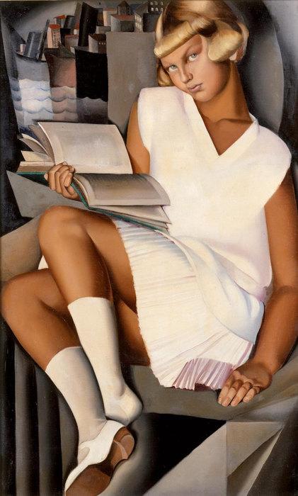 Кизетта врозовом платье, 1926