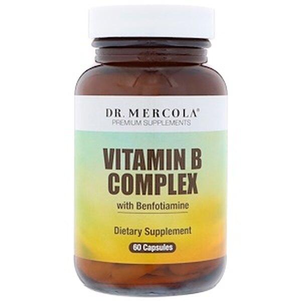 Комплекс витамина B с бенфотиамином, Dr. Mercola, 2601 руб