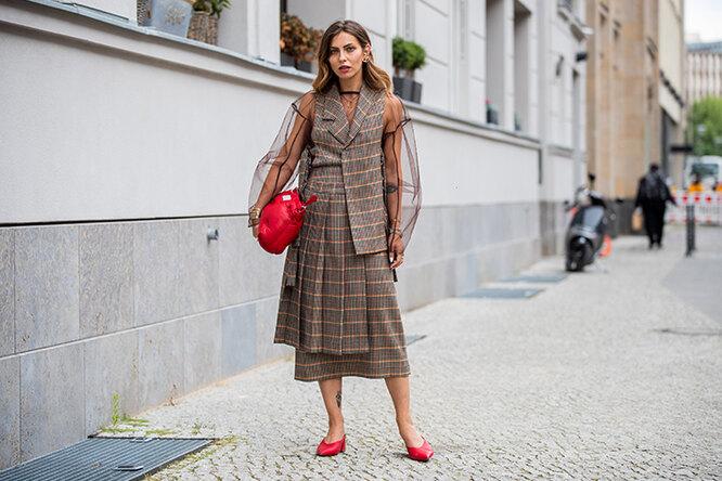 Юбка вклетку: все важные советы, как ис чем носить модный принт