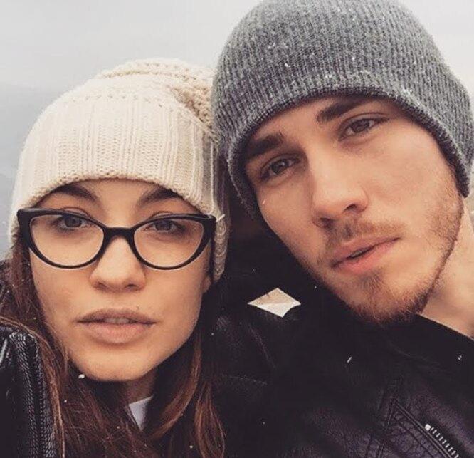Виктория Дайнеко с бывшим мужем