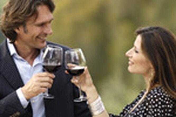 Вино способствует похудению