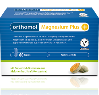 Magnesium Plus, Orthomol, 3490 руб