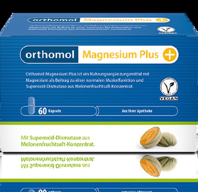 Magnesium Plus, Orthomol, 3490 руб