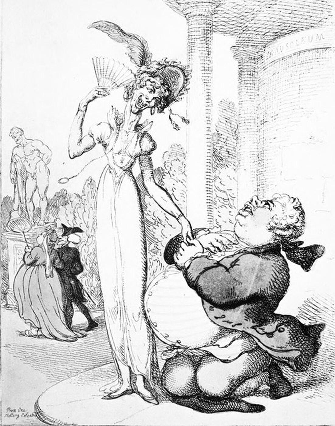 рисунок женщины и мужчины