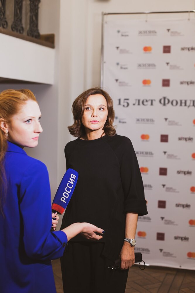 Татьяна Друбич (в центре)