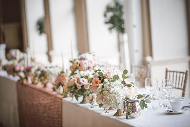 свадьба, стол