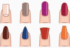 Как правильно выбирать цвет маникюра для разных форм ногтей