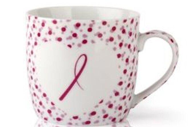 Кружка «Розовая ленточка» — новинка всерии благотворительных подарков Avon