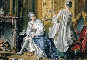 Дамы в громоздких платьях: как в прошлом женщины справлялись с туалетом