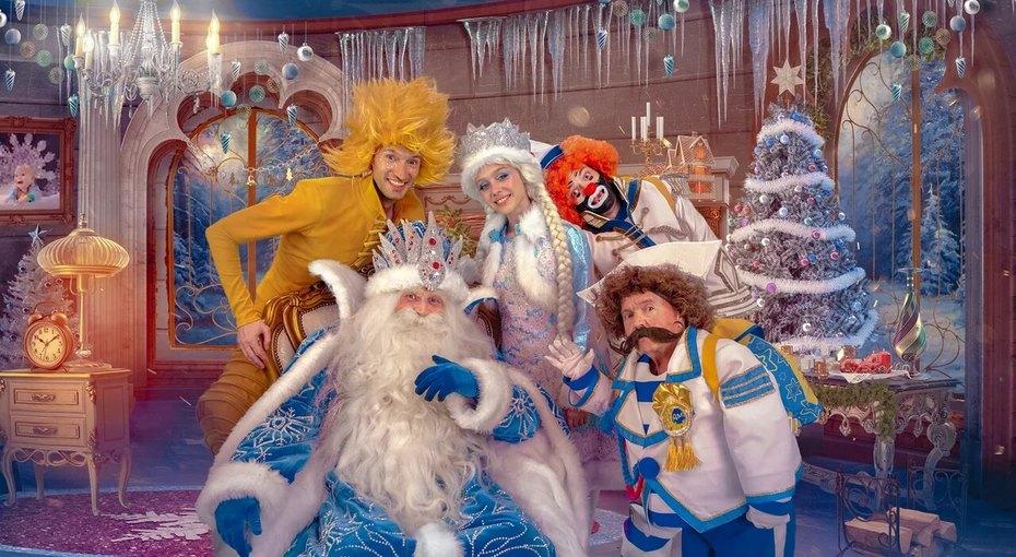 Дед Мороз приглашает насвой 1000-летний юбилей