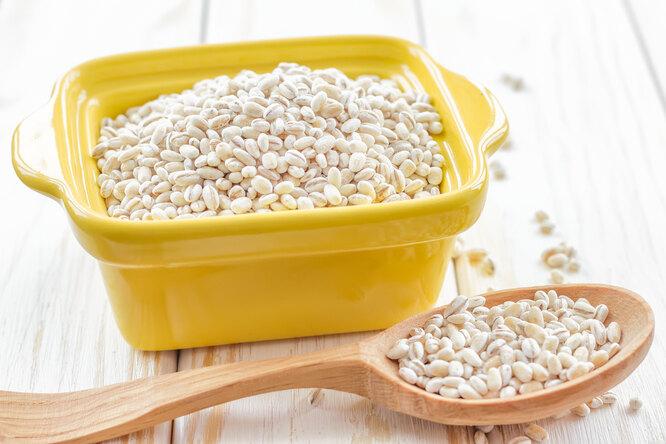 Перловая крупа, недорогие продукты для похудения
