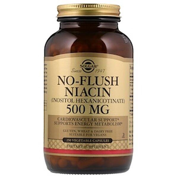 No-Flush Niacin,Solgar, 2960 руб