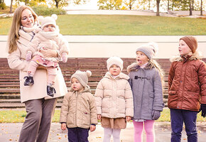 Мама 5 детей Карина Рихтере о том, как она стала «мамазонкой» и помогает другим