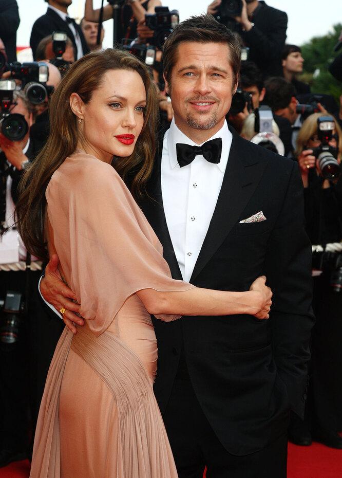 Брэд Питт и Анджелина Джоли