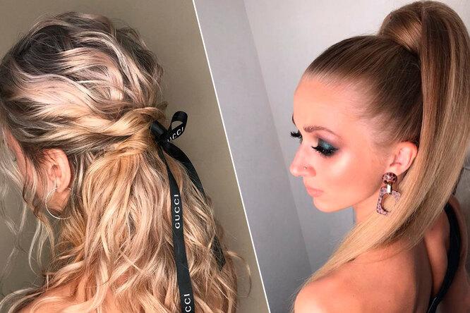 5 способов быстро икрасиво собрать очень длинные волосы