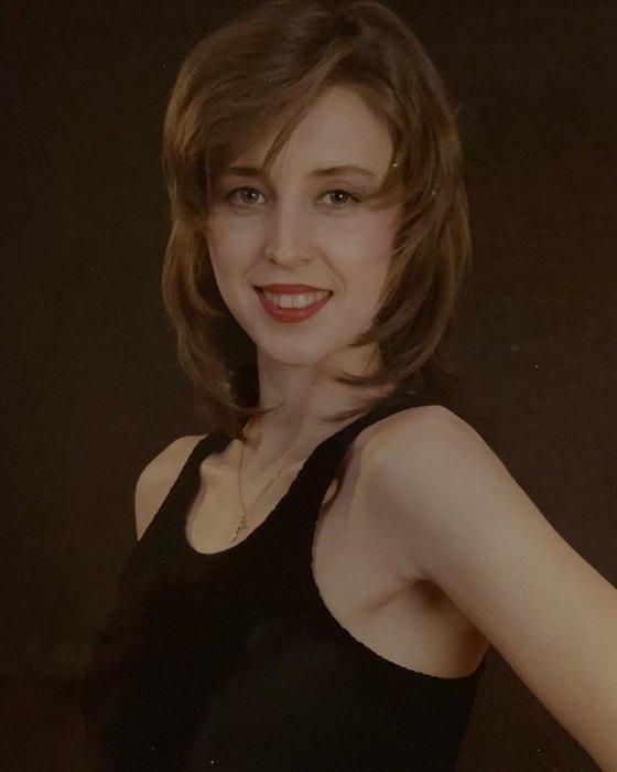 Наталья Сенчукова в1991 году