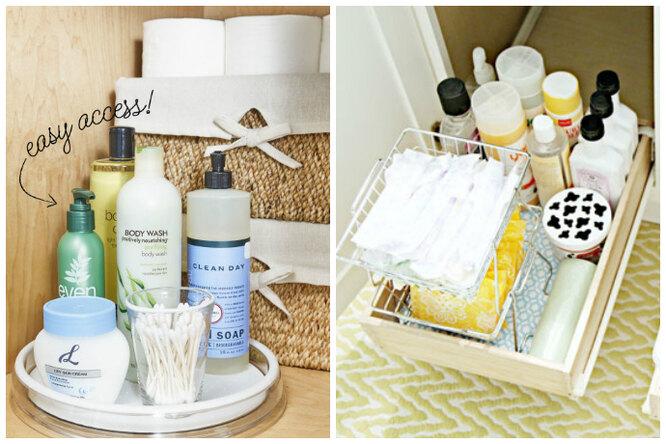 14 лучших идей дляхранения вмаленькой ванной
