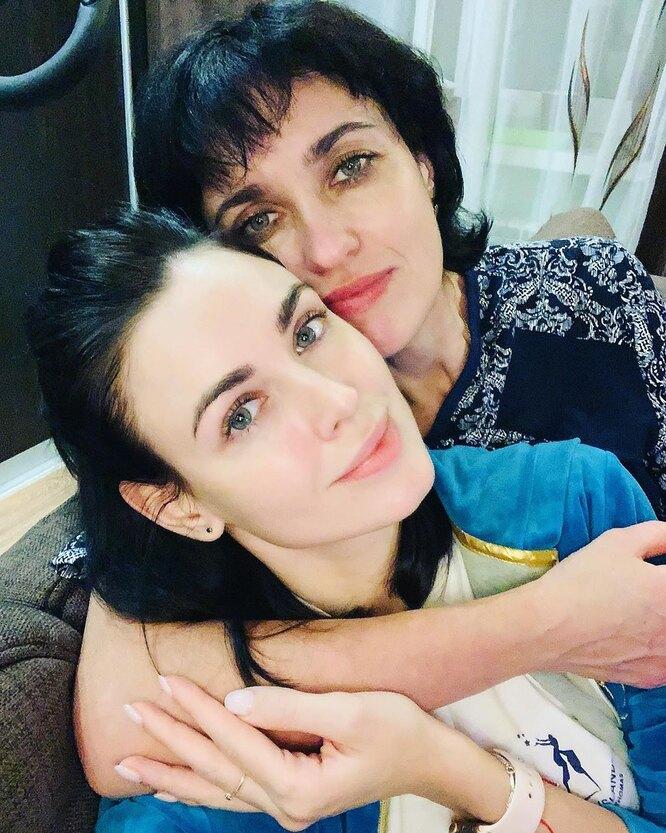 Ирина Антоненко с мамой