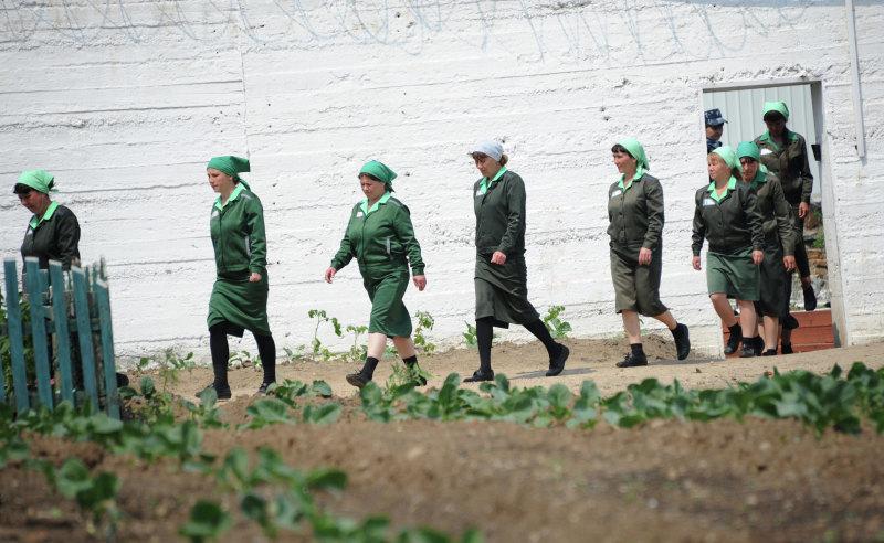Женская колония вгороде Нерчинск, Забайкалье. Фото: РИА Новости