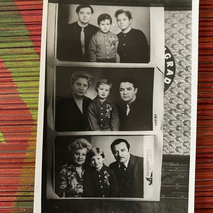 Брат, сестра, родители Григорьева-Апполонова ион сам (архивное фото)