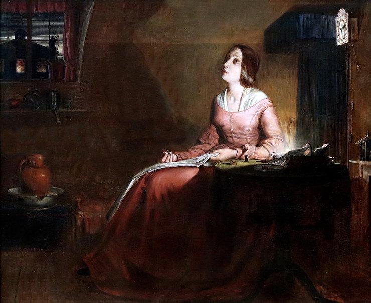 Ричард Редгрейв, «Гувернатка», 1844