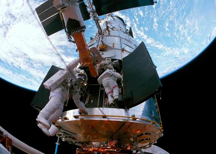 Телескоп Хаббл в3D