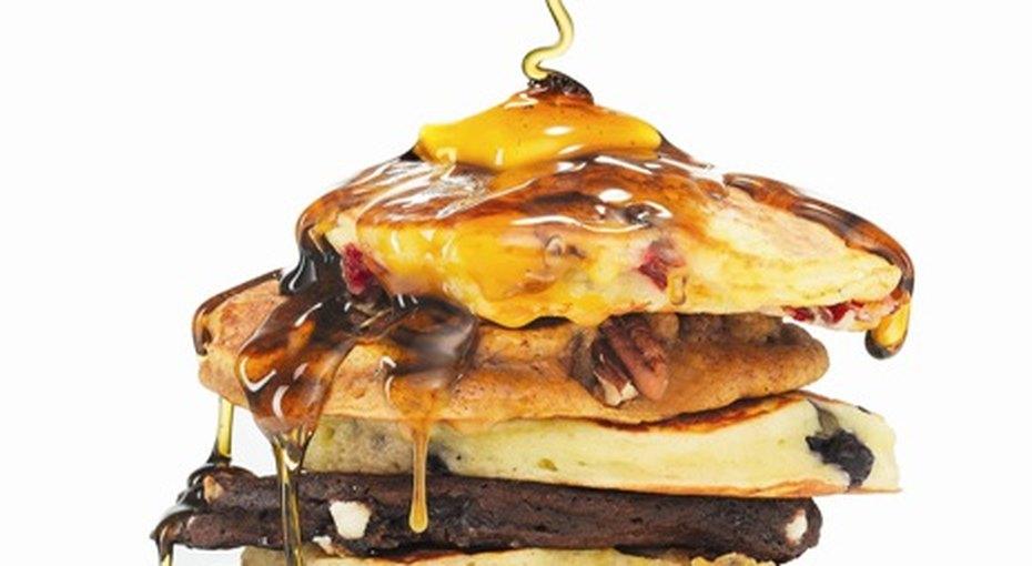 Панкейк-дежурное блюдо длязавтрака