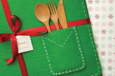 Новогодние салфетки своими руками – простой мастер класс