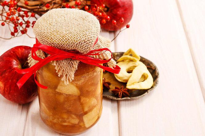 Прозрачное варенье из яблок с лимоном