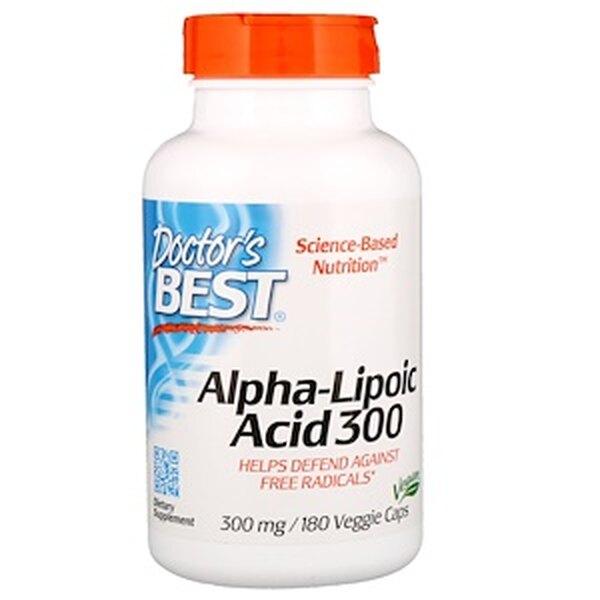 Альфа-Липоевая кислота, Doctor's Best, 1534 руб
