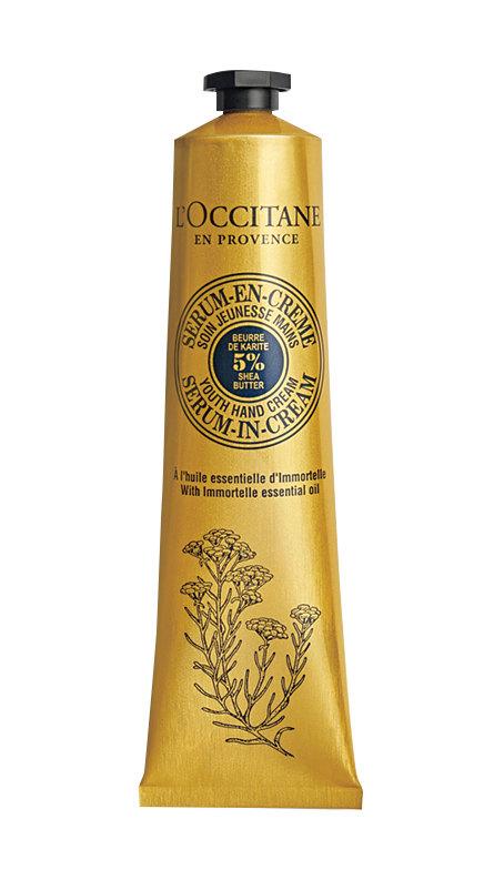 Омолаживающая крем-сыворотка для рук «Иммортель», L'Occitane