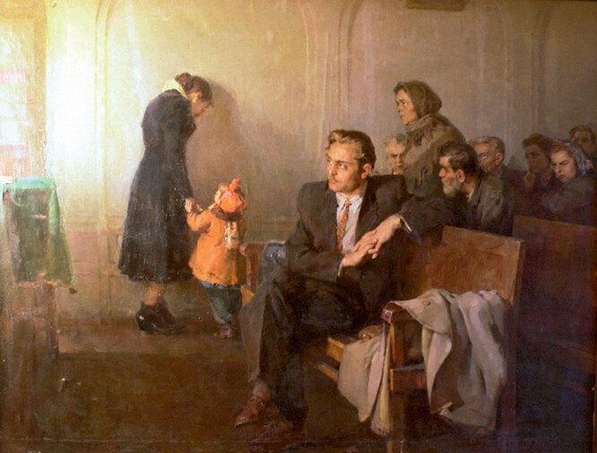 Солодовников Алексей Павлович. В советском суде. 1955