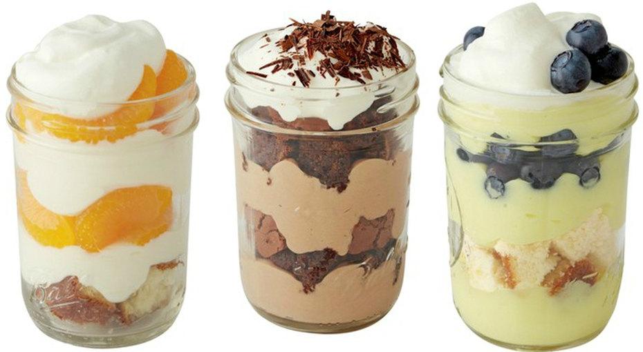 Вкусная идея: десерты вбанке