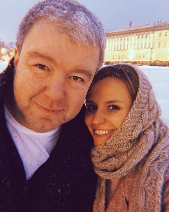 Александр Робак сженой Ольгой