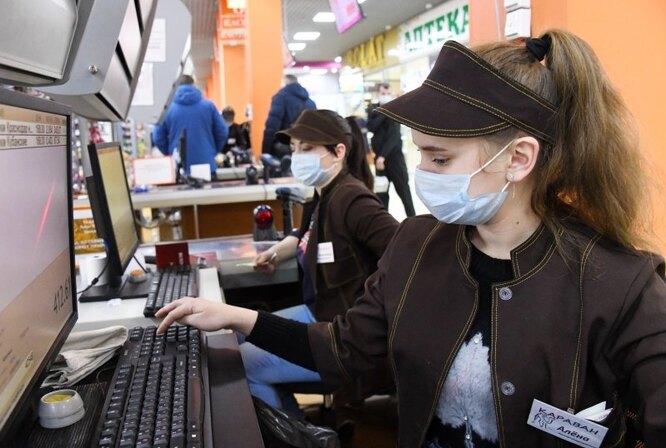 Правила поведения в продуктовом магазине в период пандемии