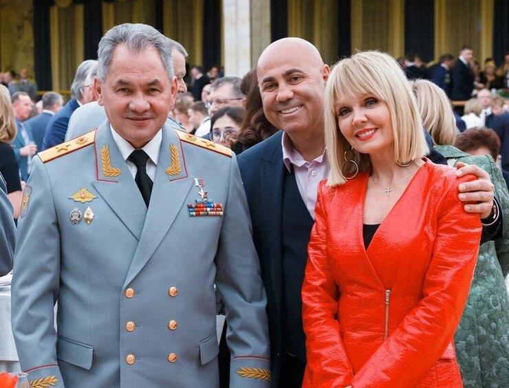 Иосиф Пригожин, Сергей Шойгу, Валерия фото