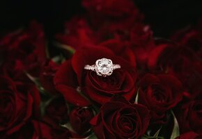 После развода женщина решила подарить случайной паре кольца за 3500 долларов