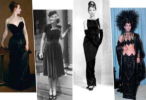 История маленького чёрного платья — от классики до эпатажа