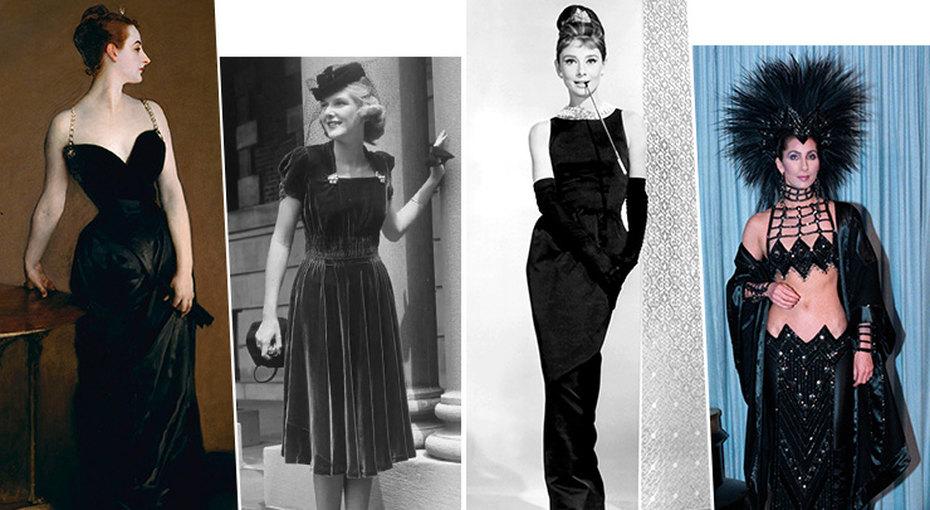 История маленького чёрного платья — отклассики доэпатажа