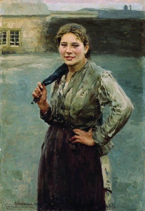 Николай Касаткин, «Шахтёрка», 1894