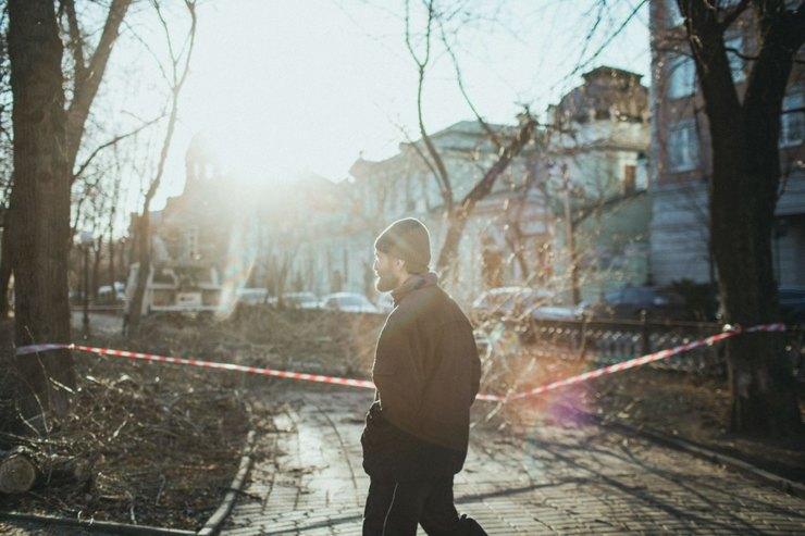 Саша напрогулке Фото: Денис Синяков дляТД