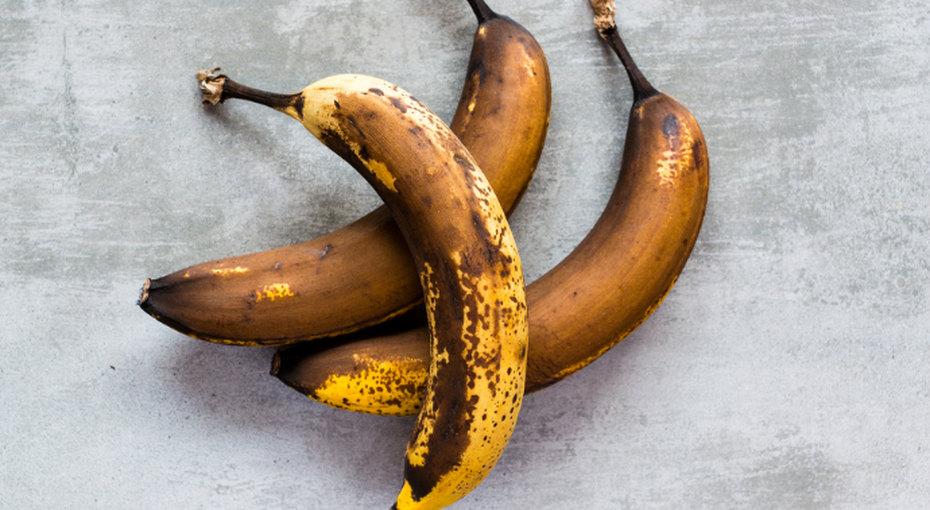 Что делать сперезревшими бананами? Только невыбрасывать!