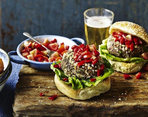 Бургер для вегетарианцев