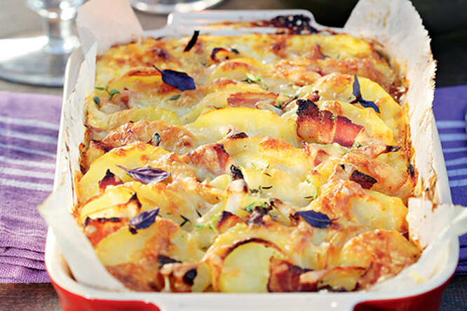 Тартифлет: простое и сытное блюдо из картофеля